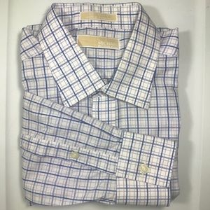 Michael Kors Shirts - MICHAEL KORS Mens Shirt 16 1/2   34/45 L Cotton
